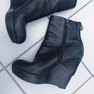 Sam Edelman Black Viva Tumble Boots